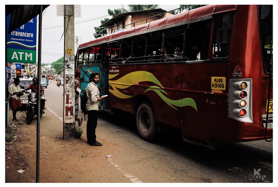 En direction du Kerala