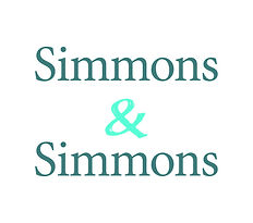 Simmons & Simmons stacked wordmark Proce