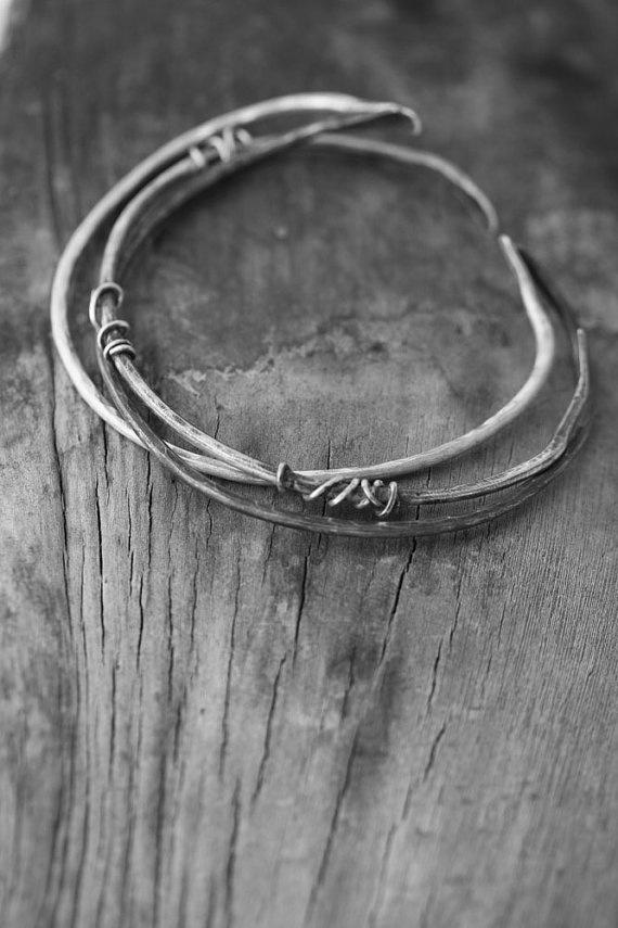 Silver Modern Bracelet