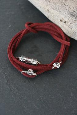 Burgundy Quarz Bracelet