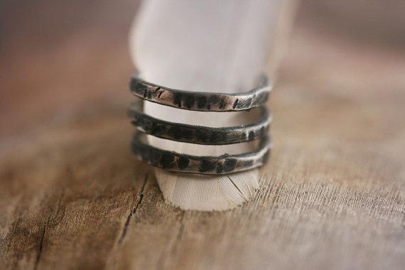 Silver Dark Ring