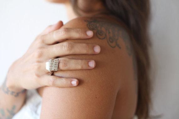 Silver Mokume Ring