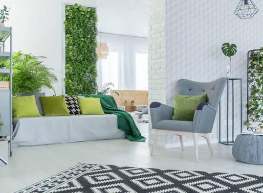 Green Walls are Perfect for your Home