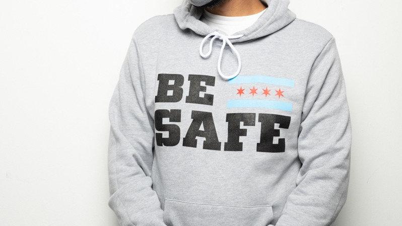 Gray Be Safe Hoodie PRE-ORDER