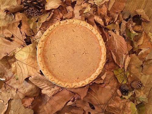 White Gold Sweet Potato Pie