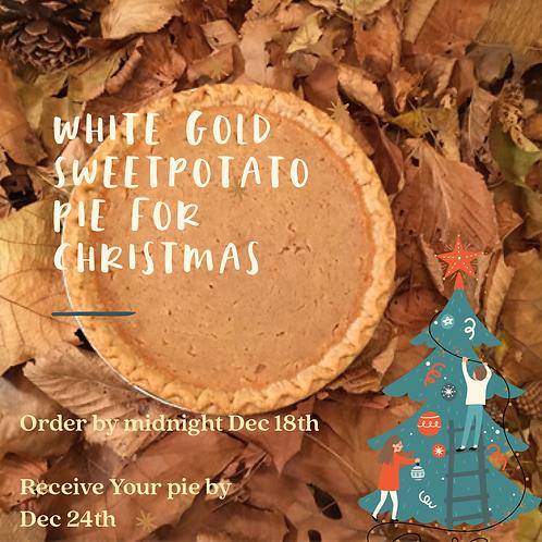 Christmas Pie ( White Gold )