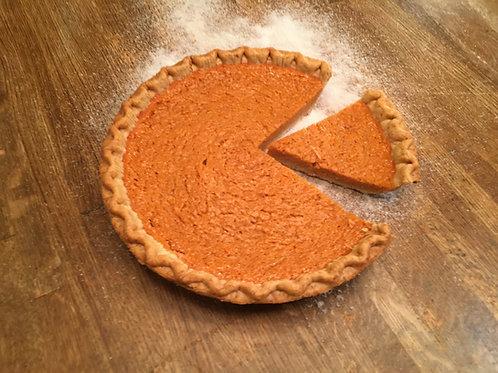 Orange Crush Sweet Potato Pie