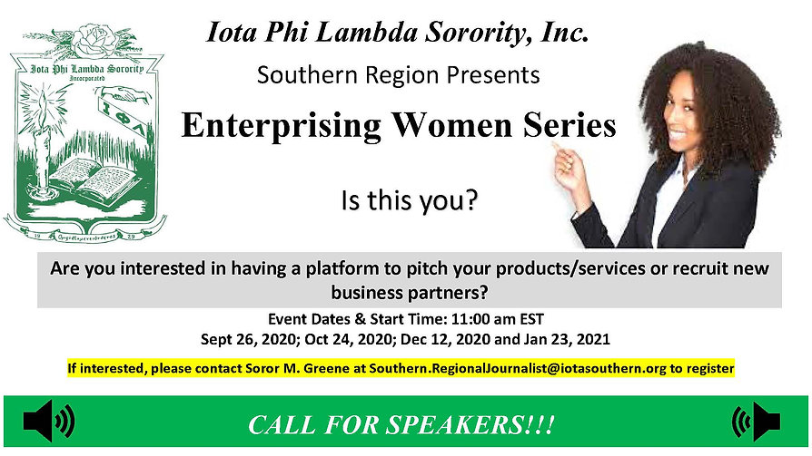 1Enterprise Women Series Flyer Update 24
