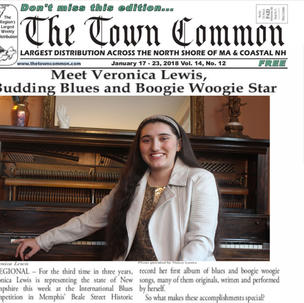 Meet Veronica Lewis, Budding Blues Star