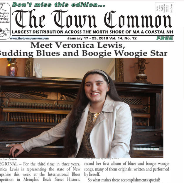 Meet Veronica Lewis, Budding Blues Star