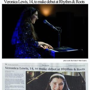 Veronica Lewis,14 Debuts Rhtyhm & Roots