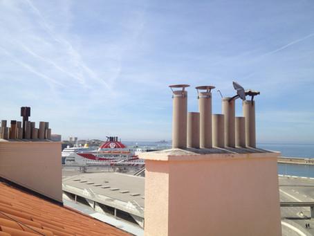 Les axes concernés par l'injonction de ravalement et les subventions à Marseille