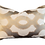 Thumbnail: Gold & Taupe Medallion Pillow - Pair