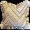 Thumbnail: Embroidered Chevron Sampler Pillow - Pair