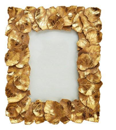 Golden Foliage Frame