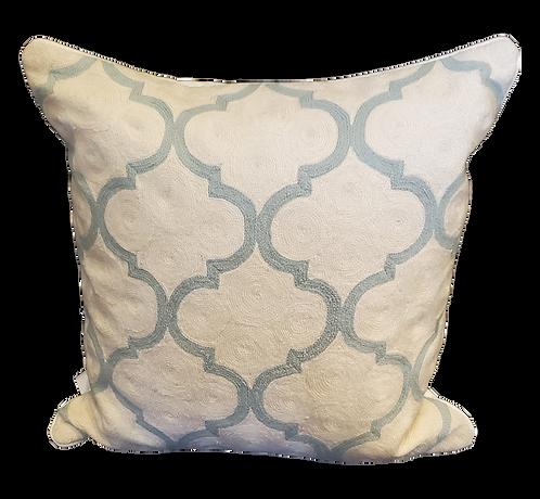 Gopura Sage Hand Embroidered Pillow