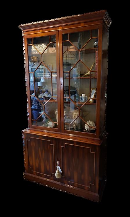 Vintage Yew Bookcase