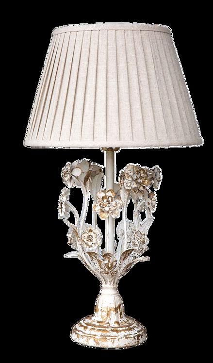 Metal Flower Table Lamp