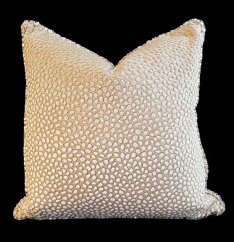 Beige & Ivory Ocelot Pillow