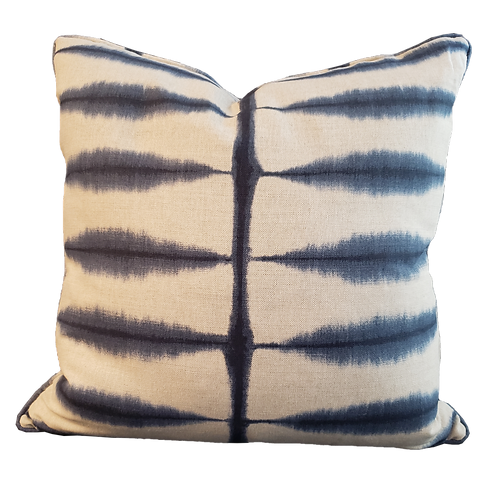 Indigo Tie Dyed Pillow