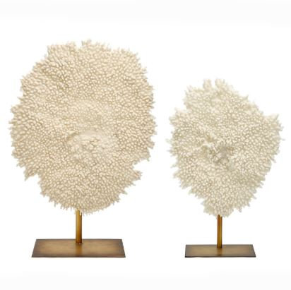 Coral Sculpture on Stand
