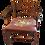 Thumbnail: Set of Vintage Mahogany Ladder Back Chairs