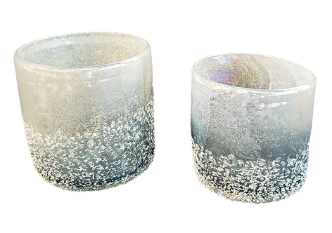 Iridescent Candle Holder