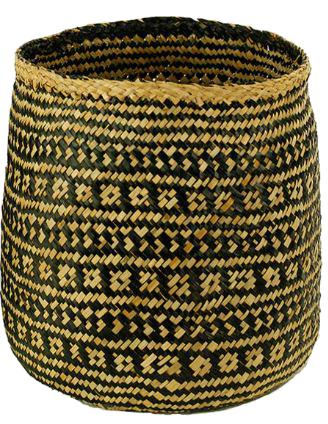 Woven Cylinder Basket