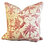 Thumbnail: Red on Yellow Chinoiserie Toile Pillow - Pair