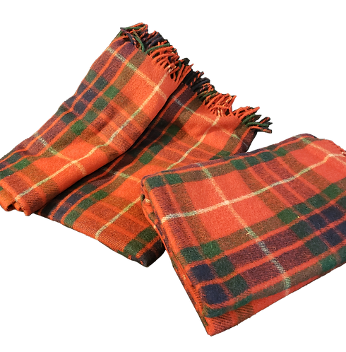 Frasier Tartan Carriage Blanket