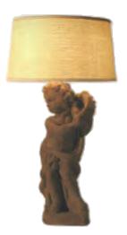 Statuary Table Lamp