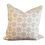 Thumbnail: Blue on Ivory Printed Medallions Pillow - Pair