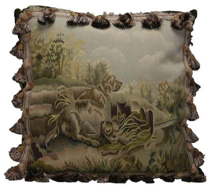 Sleeping Dog Aubusson Pillow