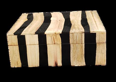 Wood Inlay Desk Box