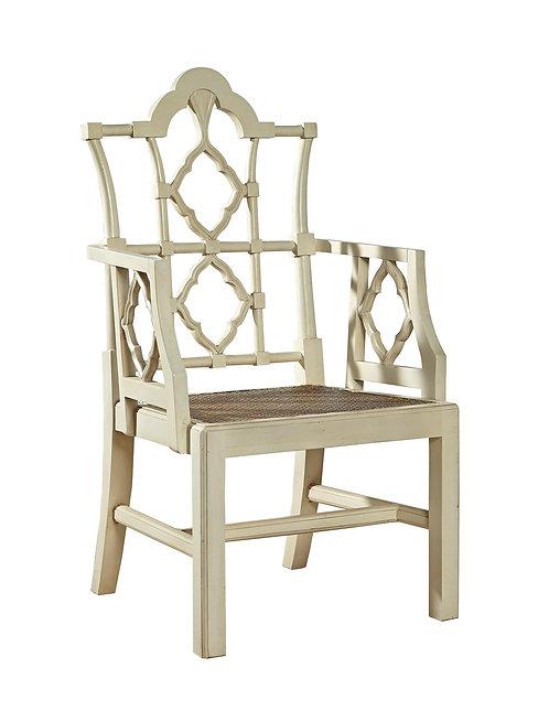 Pair of Fretback Arm Chair