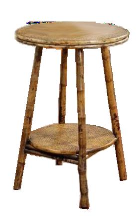English Bamboo Side Table