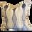 Thumbnail: Gray & Ivory Tribal Stripe Pillow
