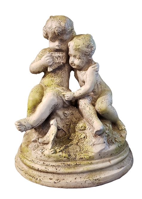 Garden Serenade Resin Statuary