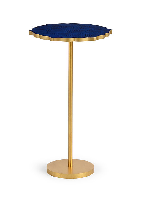 Lapis Blue & Gold Drink Stand