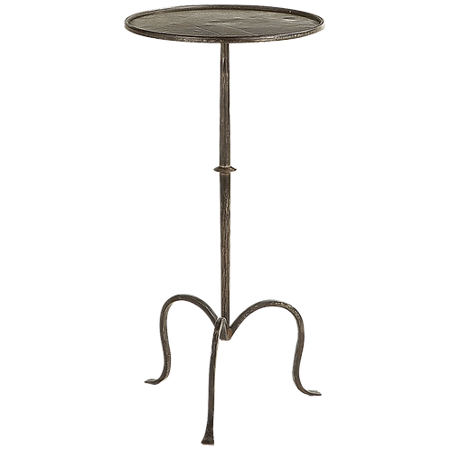 Hand Forged Iron Martini Table