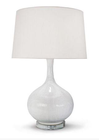 Ivory Ceramic Lamp