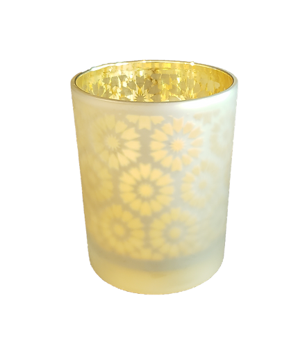 Candleholder with LED Pillar Candle