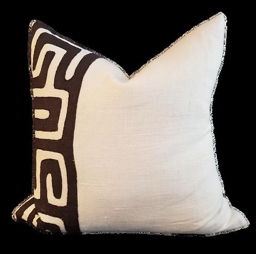 Nairobi Pillow - Black & White
