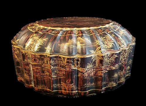 Scalloped Chinois Box