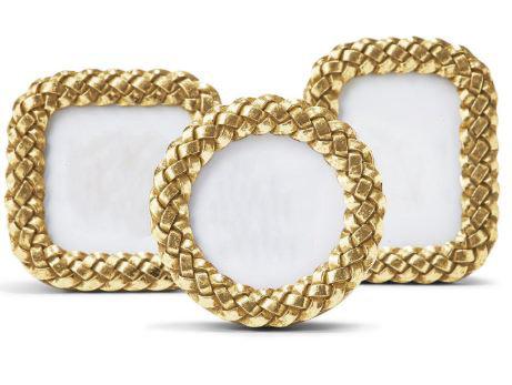 Braided Gold Frame