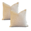 Thumbnail: Beige & Ivory Ocelot Pillow - Pair
