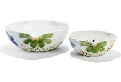 Japanese Flower Blossom Bowl