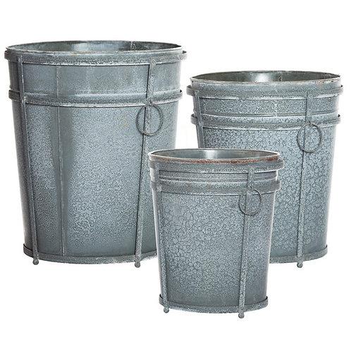Gabby Galvanized Container