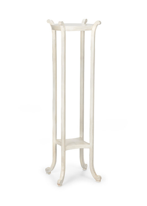 White Paris Fern Stand