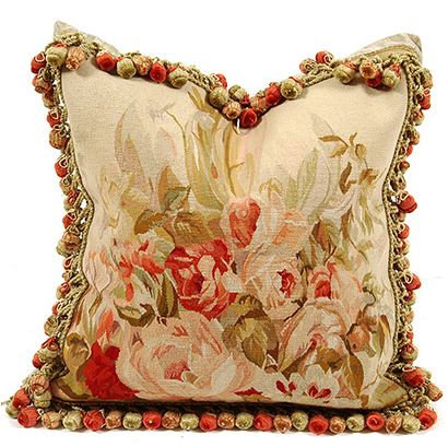 Lauralynn Aubusson Pillow